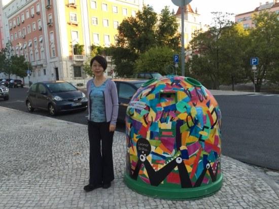 ポルトガル ゴミ箱