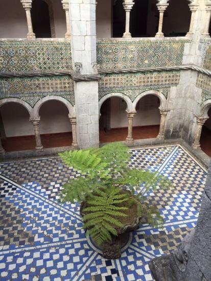 ペーナ 中庭