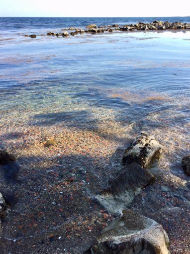 綺麗な海水